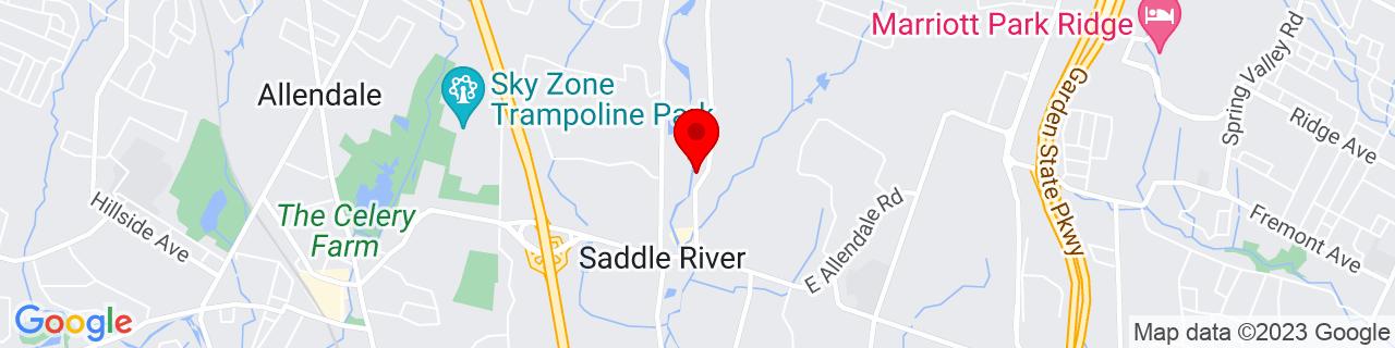 Google Map of 41.036791, -74.09939299999999