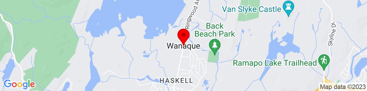 Google Map of 41.0381525, -74.2940378