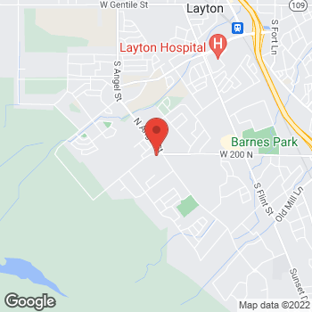 Map of Colton Ragsdale, MD at 2025 W 200 N, Kaysville, UT 84037