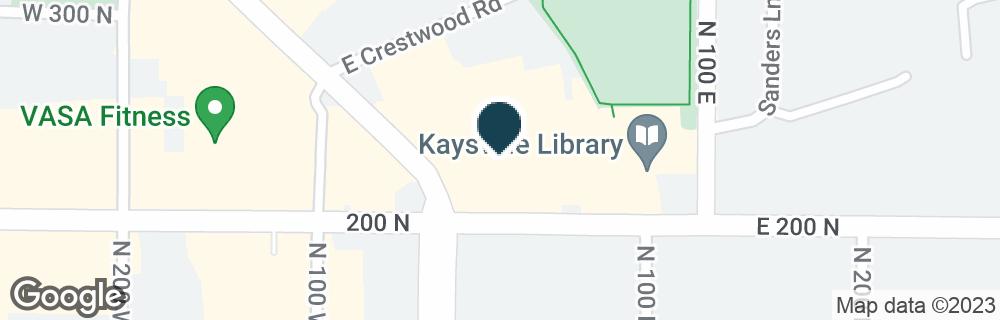 Google Map of210 N MAIN ST