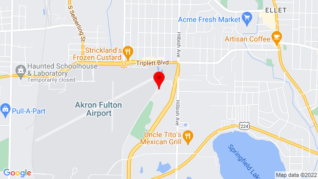 Google Map of 789 Derby Downs, Akron, OH 44306