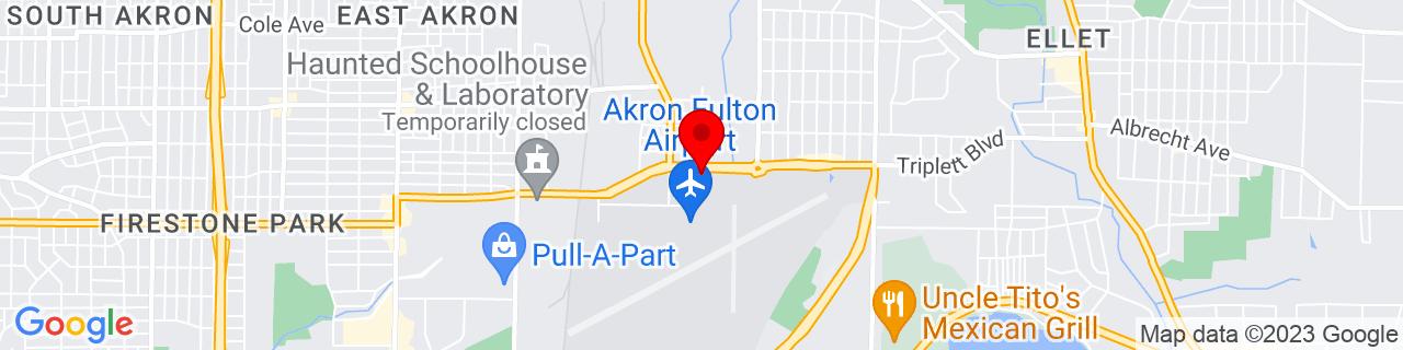 Google Map of 41.04272222222222, -81.4674