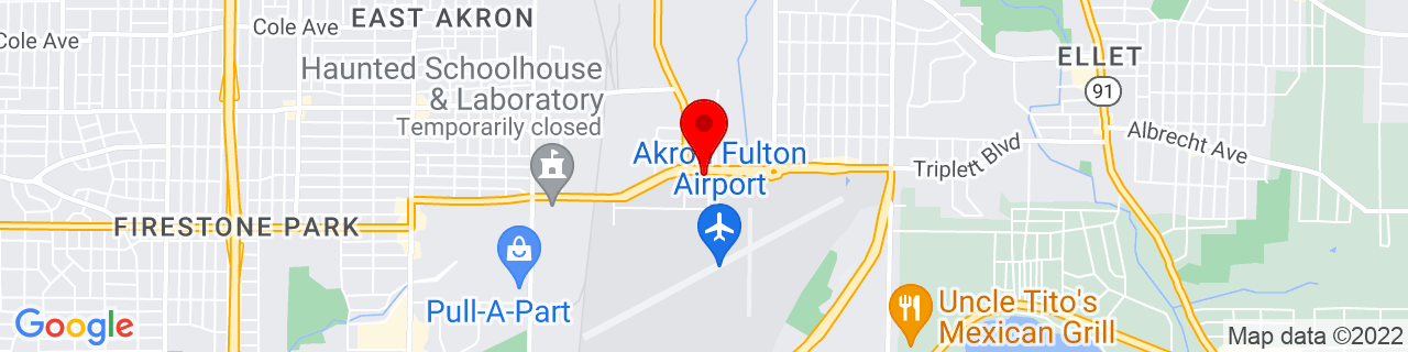 Google Map of 41.04285, -81.46842777777778