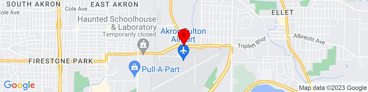 Google Map of 41.04323888888889, -81.46808611111112