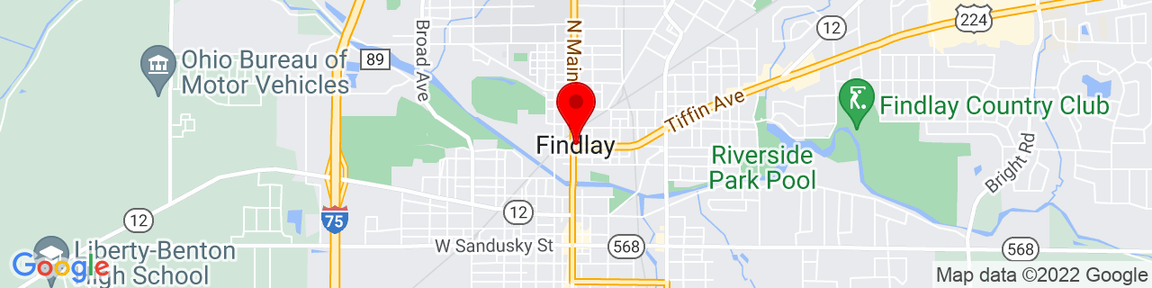 Google Map of 41.04422, -83.6499321