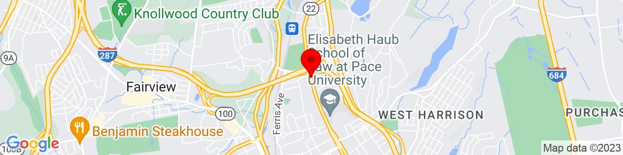 Google Map of 41.0446125, -73.7691332