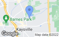 Map of Kaysville, UT