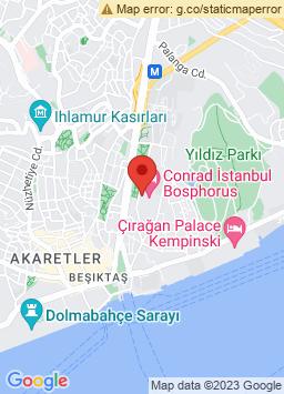 Google Map of كونراد إسطنبول بوسفوروس