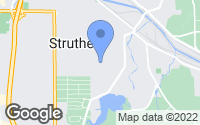 Map of Struthers, OH