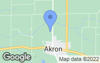 Map of Akron, IN