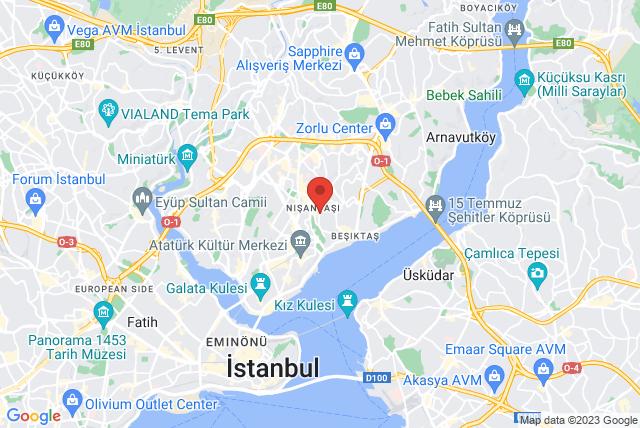 BASI Pilates Turkey Map