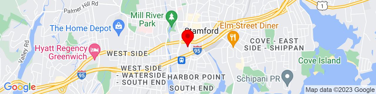 Google Map of 41.0498025, -73.5401248