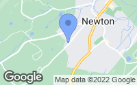 Map of Newton, NJ