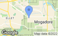 Map of Mogadore, OH