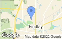 Map of Findlay, OH
