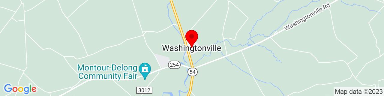 Google Map of 41.0517525, -76.67467909999999