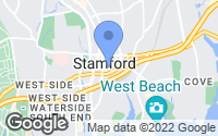 Map of Stamford, CT