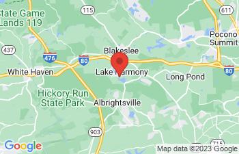 Map of Lake Harmony