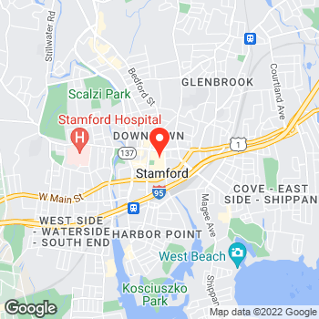 Map of LOFT at 100 Greyrock Place, Stamford, CT 06901
