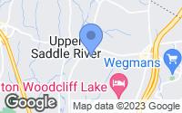 Map of Upper Saddle River, NJ