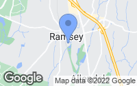 Map of Ramsey, NJ