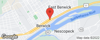 Map of 321 E Front St in Berwick