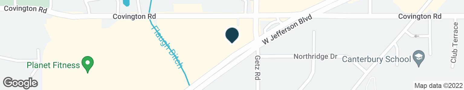 Google Map of6202 W JEFFERSON BLVD
