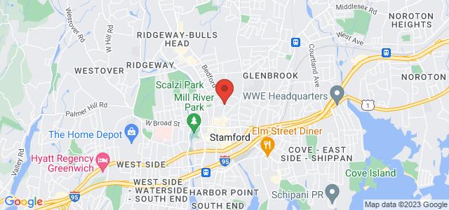 Stamford Florist Map