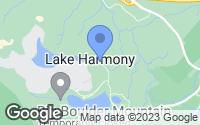 Map of Lake Harmony, PA