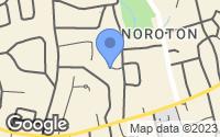 Map of Darien, CT