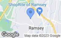 Map of Ramsey, NJ