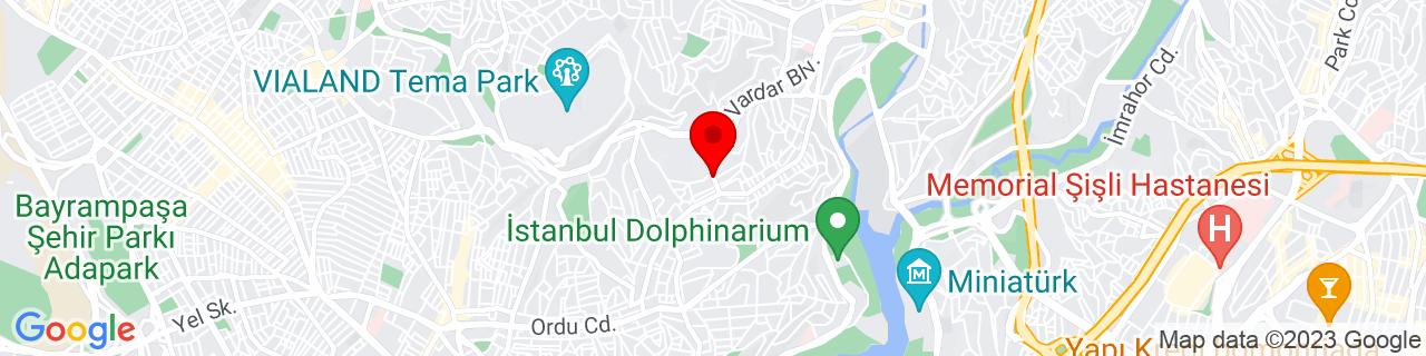 Google Map of 41.06666666666667, 28.933333333333334