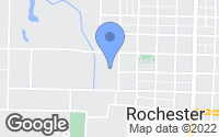 Map of Rochester, IN