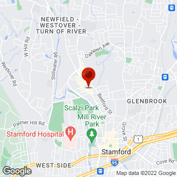 Map of Staples® Print & Marketing Services at 2299 Summer St., Stamford, CT 06905