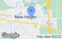 Map of New Haven, IN
