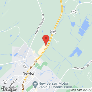 Map of Staples at 19 Hampton House Rd, Newton, NJ 07860