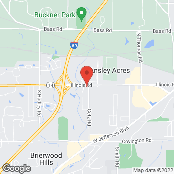 Map of Speedy Café at 6205 Illinois Road, Fort Wayne, IN 46804