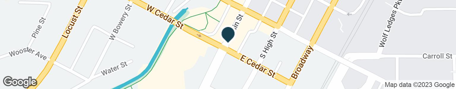 Google Map of375 S MAIN ST