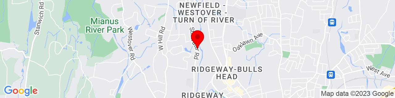 Google Map of 41.0765644, -73.5570791