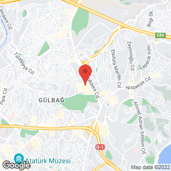 Map of Salvatore Ferragamo at Buyukdere Caddesi, 185, Istanbul, İstanbul 34394