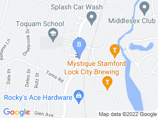 Map of Camp Bow Wow Dog Boarding Stamford Dog Boarding options in Stamford | Boarding