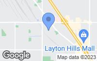 Map of Layton, UT
