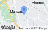 Map of Mahwah, NJ