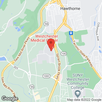 Map of Panera Bread at 100 Woods Road, Valhalla, New York 10595