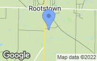 Map of Rootstown, OH