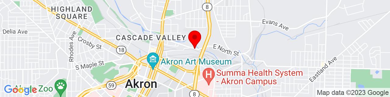 Google Map of 41.088744, -81.50370310000001