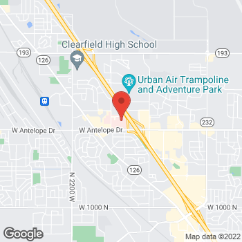 Map of Jared Peterson, MD at 1580 West Antelope Drive, Layton, UT 84041