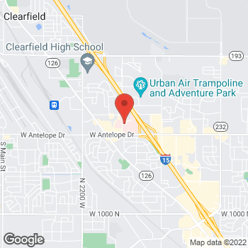 Map of Zachary Yenna, MD at 2132 N 1700 W, Layton, UT 84041