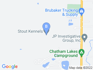 Map of Stout Kennels Dog Boarding options in Medina | Boarding