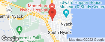 Map of 240 Main St in Nyack